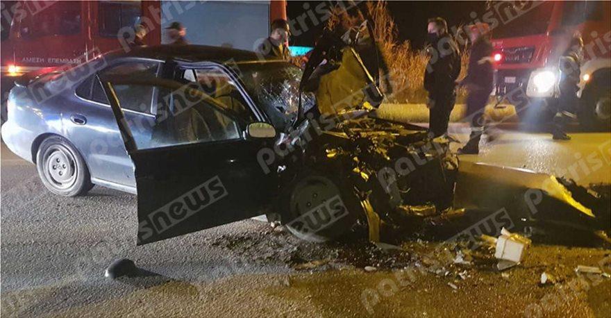 Το τροχαίο ατύχημα του νεκρού αστυνομικού.