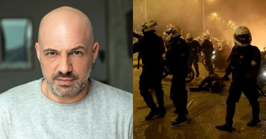 Οι δηλώσεις του Νίκου Μουτσινά για το περιστατικό στη Νέα Σμύρνη.