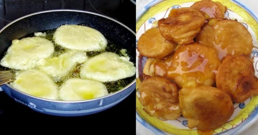 Αφράτες τηγανίτες γιαουρτιού