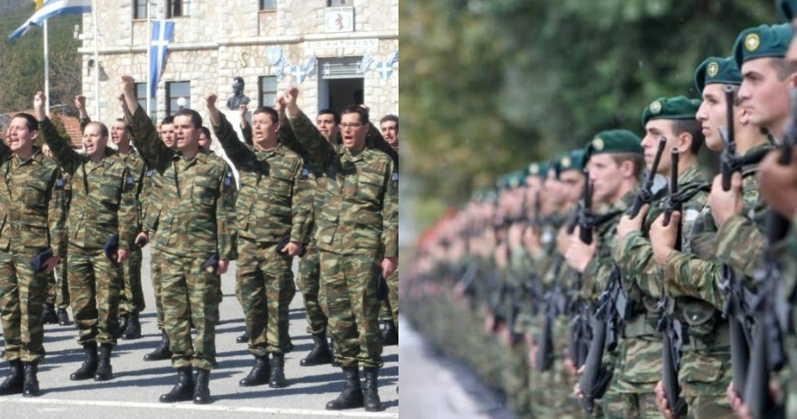 Αυξάνεται η στρατιωτική θητεία