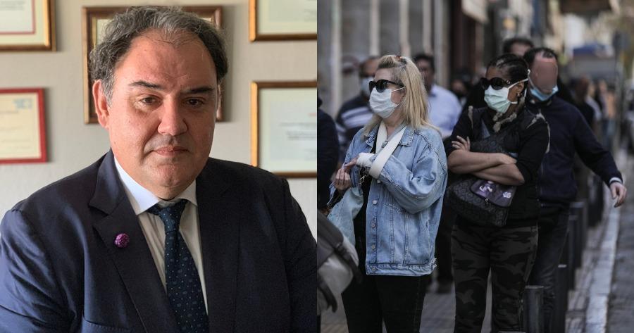 Οι δηλώσεις του Δημοσθένη Σαρηγιάννη για τα κρούσματα στην Ελλάδα.