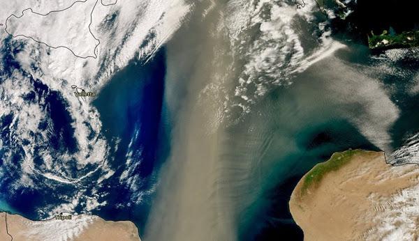 Ευρώπη και Ελλάδα: Νέα κακοκαιρία, λόγω σύννεφου σκόνης.