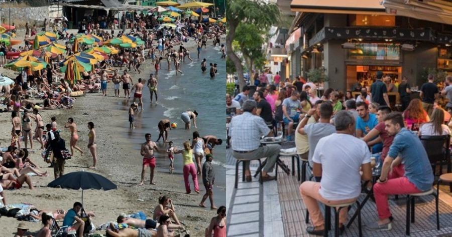 Η επιτυχία του πειράματος του Ισραήλ: Γεμάτες καφετέριες, παραλίες και γήπεδα.