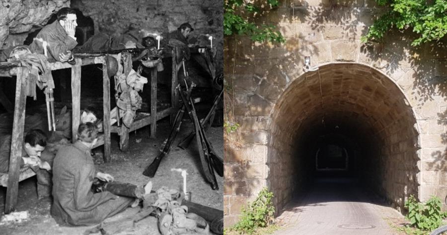 Η μυστική σήραγγα του τούνελ του θανάτου.