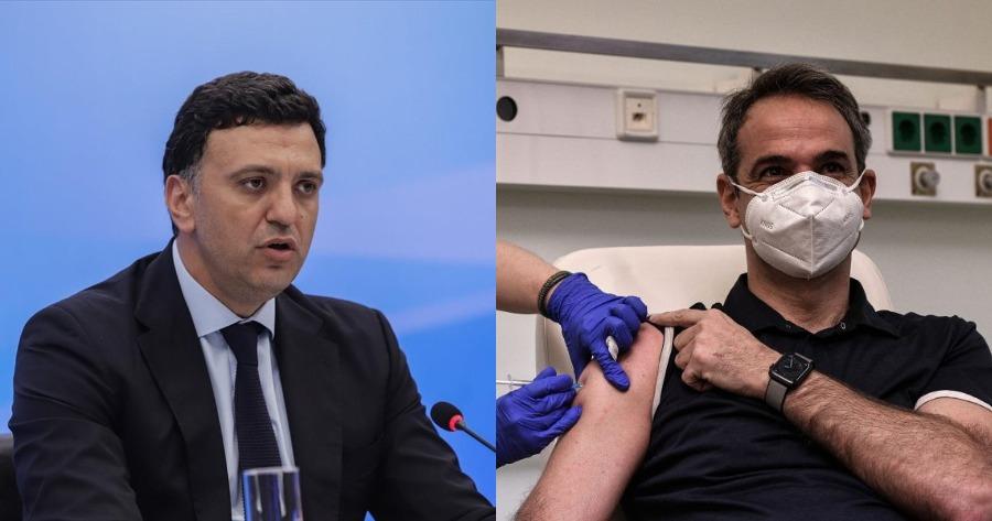 Οι δηλώσεις του Βασίλη Κικίλια για το εμβόλιο AstraZeneca.