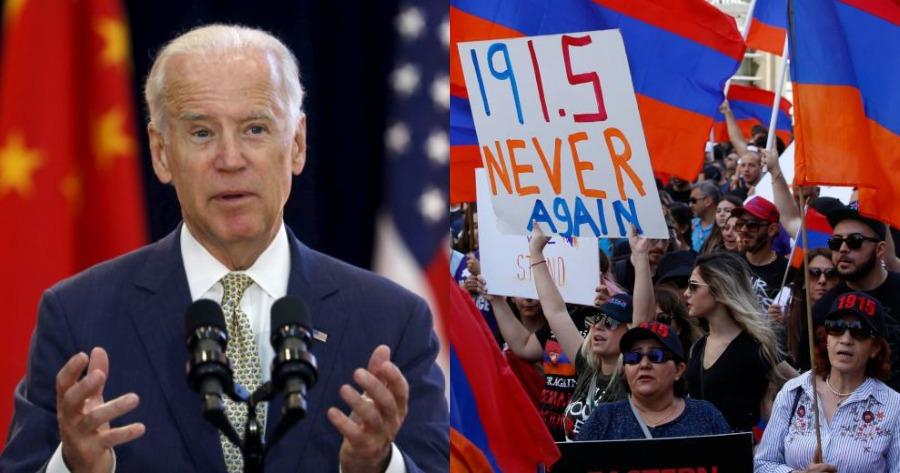 Τζο Μπάιντεν για γενοκτονία των Αρμενίων