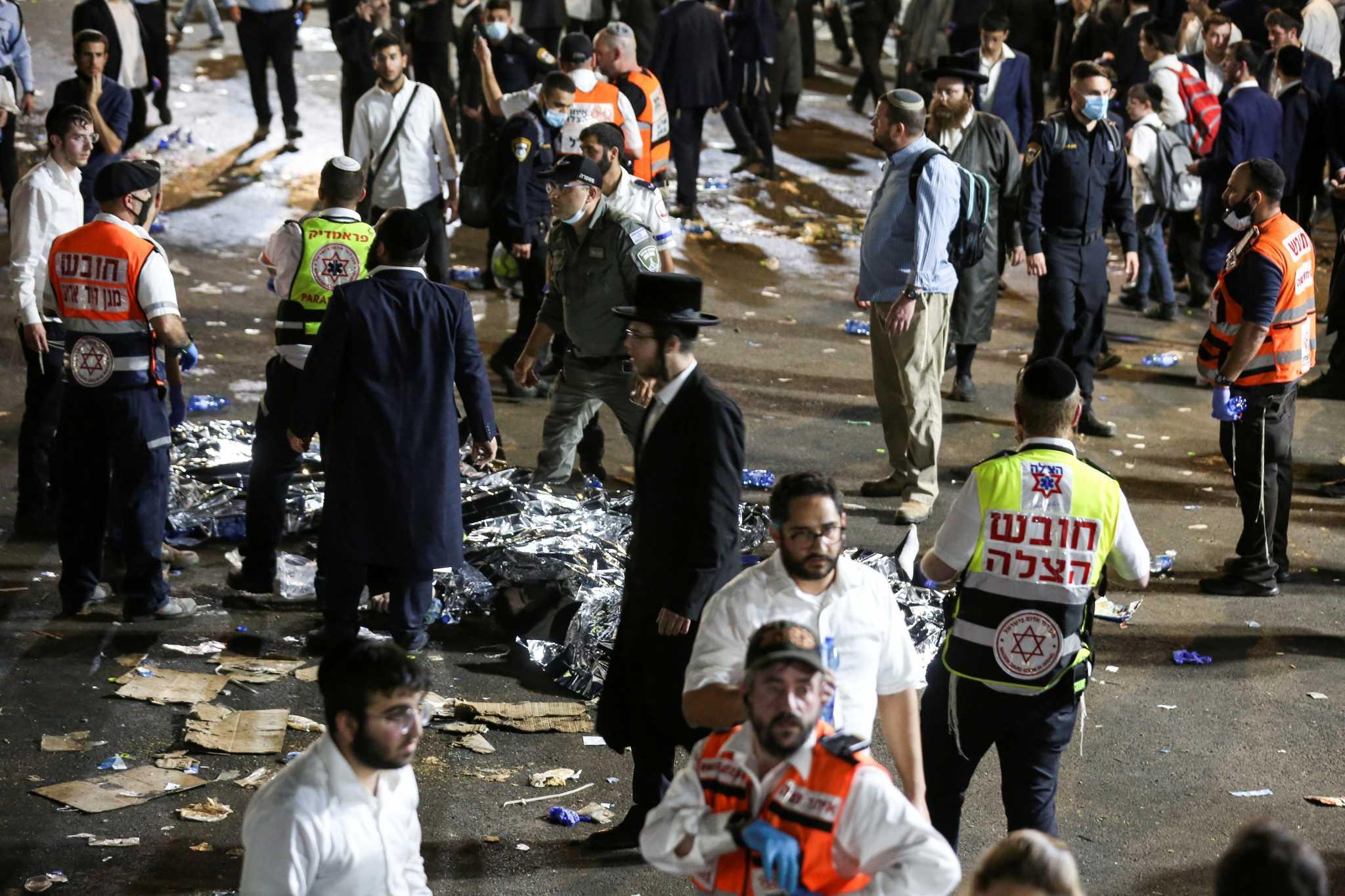 Κατάρρευση κερκίδων στο Ισραήλ