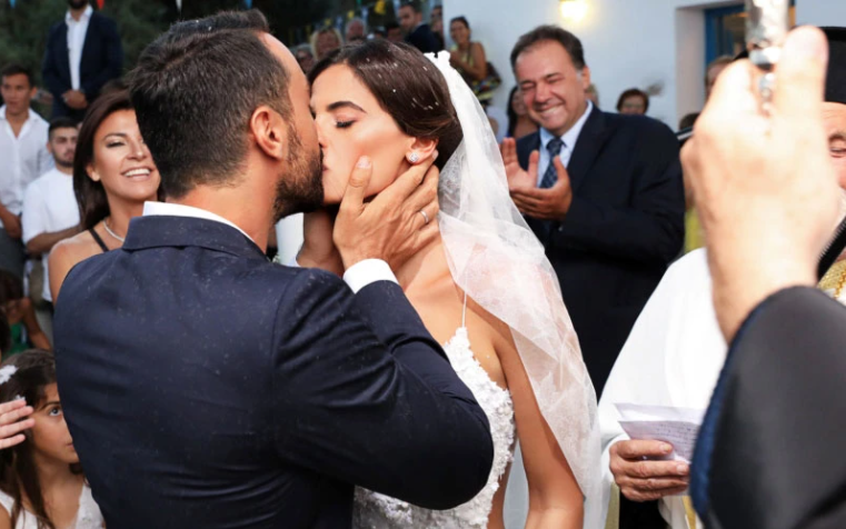 γαμήλια φιλιά