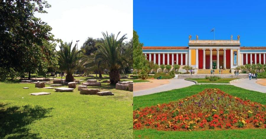 Ακαδημία Πλάτωνος Αρχαιολογικός χώρος