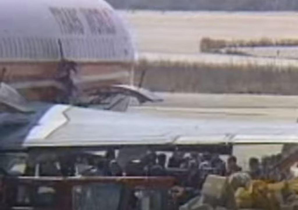 Έκρηξη βόμβας στο αεροπλάνο πάνω από το Άργος