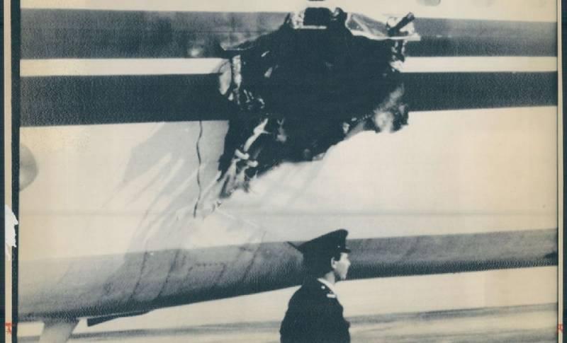 Έκρηξη βόμβας σε αεροπλάνο