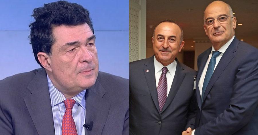 Σχόλιο Αλέξη Παπαχελά: Σχολίασε τη συνάντηση Νίκου Δένδια και Μεβλούτ Τσαβούσογλου.