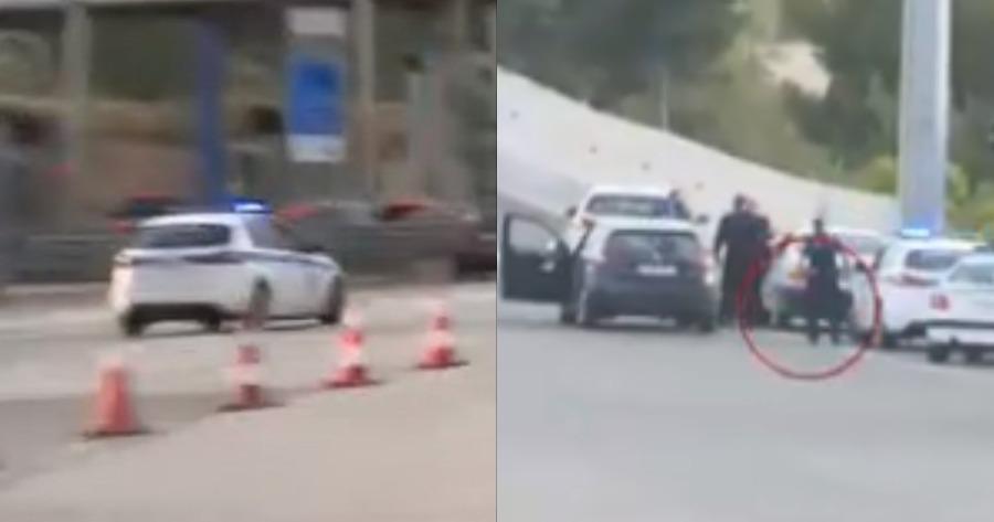 Υπόθεση καταδίωξης στα διόδια: Οδηγός έφυγε κορνάροντας.