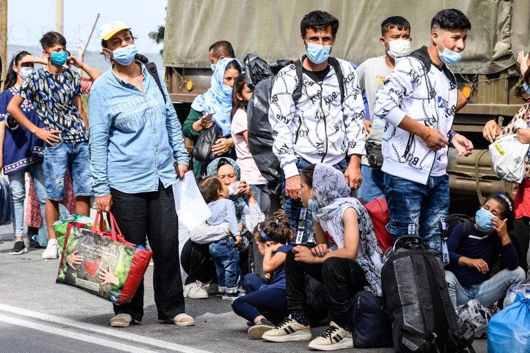 Μετανάστες Μυτιλήνη