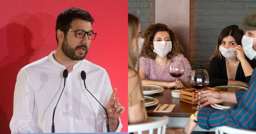Νάσος Ηλιόπουλος για άνοιγμα εστίασης