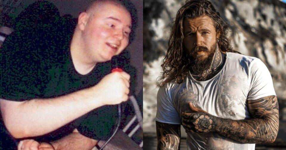 Παχύσαρκος νεαρός αδυνάτισε