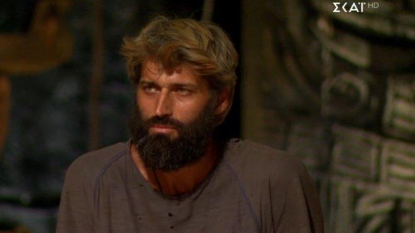 Ψηφοφορία Survivor: Αποχώρησε ο Αλέξης Παππάς.