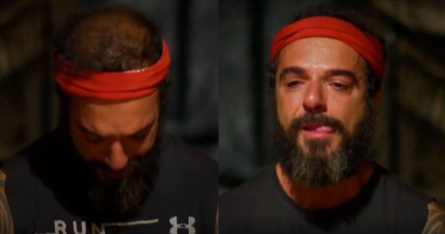 Survivor: Οικειοθελή αποχώρηση Τριαντάφυλλου