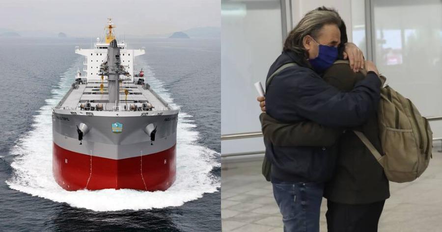 Λεπτομέρειες του θαύματος του Πάσχα: Επέστρεψαν εγκλωβισμένοι ναυτικοί.