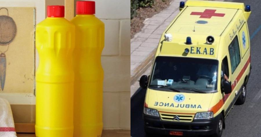 Επίθεση με χρήση καυστικού υγρό στο Κέντρο της Αθήνας.