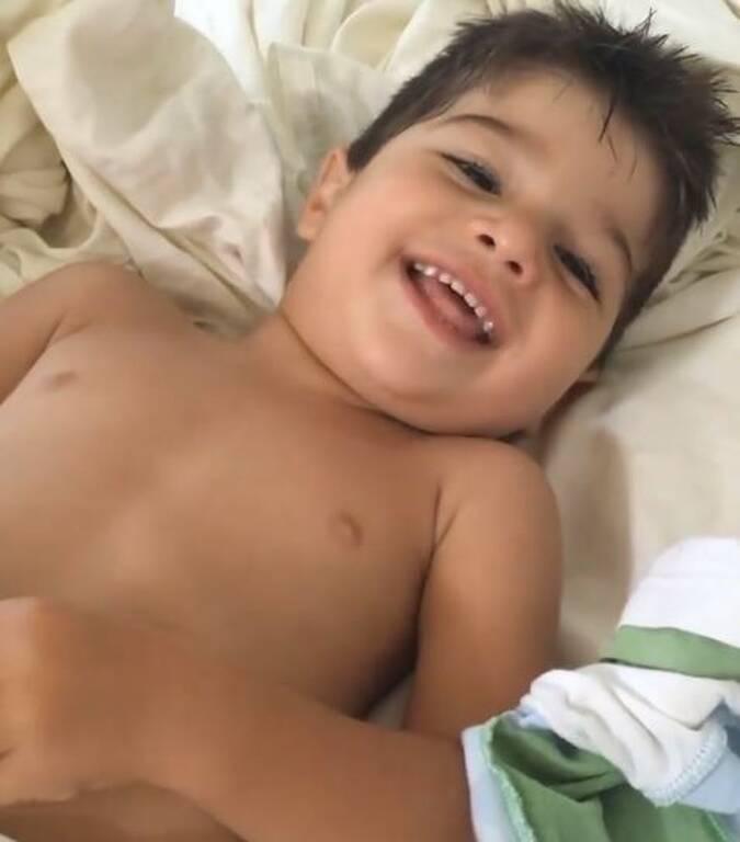 Μικρός γιος της Φαίης Σκορδά γενέθλια