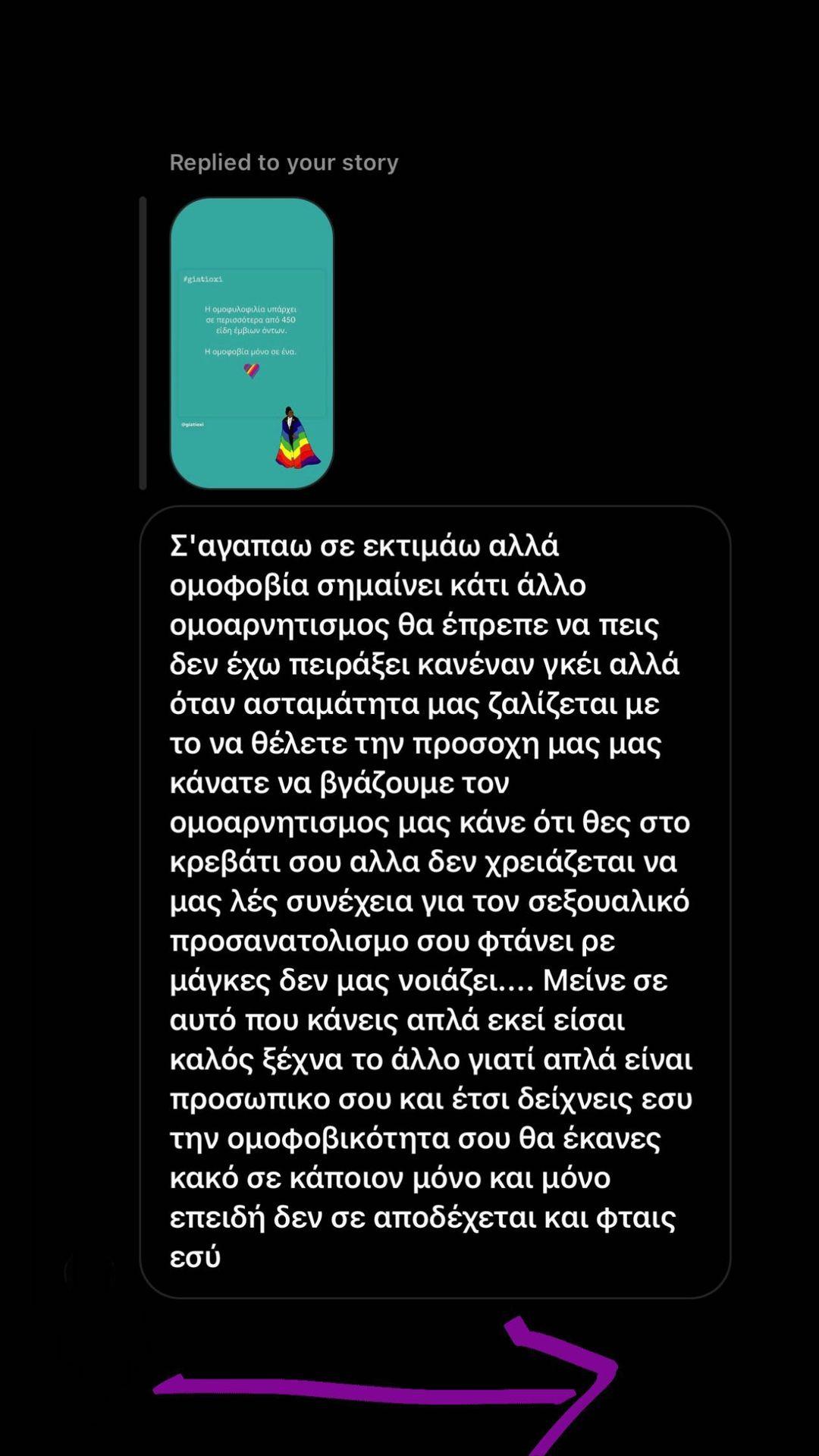 Νίκος Μουτσινάς για ομοφοβία