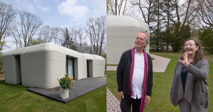 Το πρώτο 3D εκτυπωμένο σπίτι στην Ευρώπη
