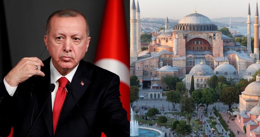 Αγιά Σοφιά και Άλωση της Κωνσταντινούπολης