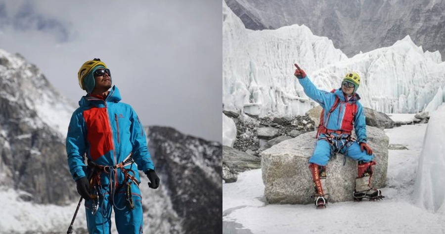 Τυφλός ορειβάτης ανέβηκε στο Έβερεστ