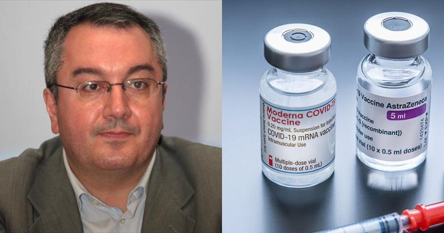 Ηλίας Μόσιαλος ανάμιξη εμβολίων
