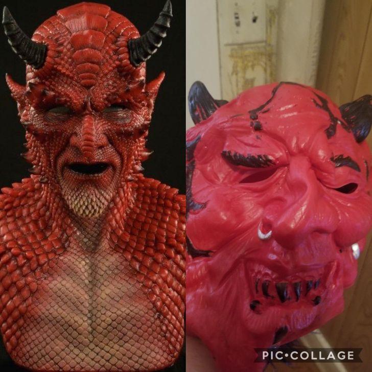 Halloween μάσκα
