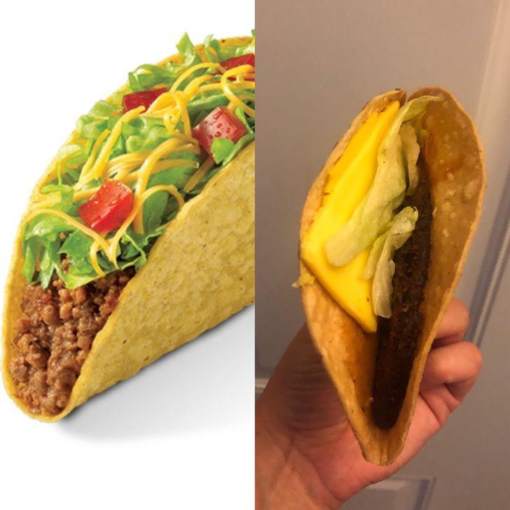 taco burger king