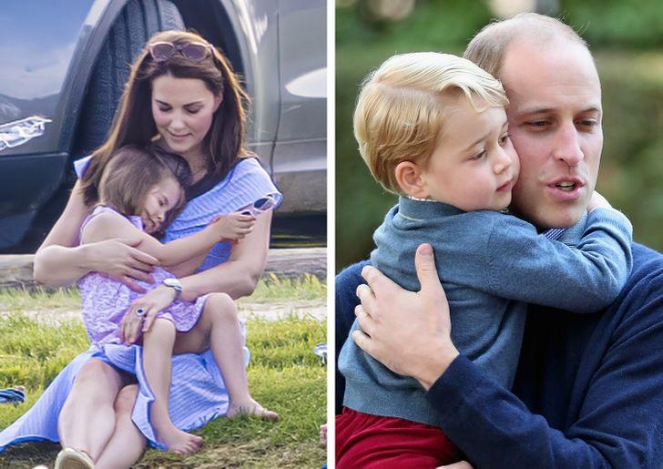 Πρίγκιπας Γουίλιαμ και Κέιτ Μίντλετον γονείς
