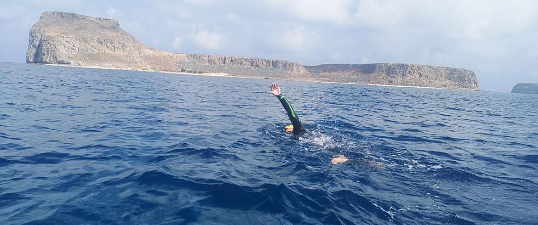 Κώστας Βαρουχάκης κολύμπι-Αθλητής τρίαθλου
