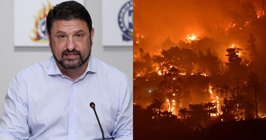 Δηλώσεις Νίκου Χαρδαλιά: Τι είπε για τη φωτιά στο Σχινό;