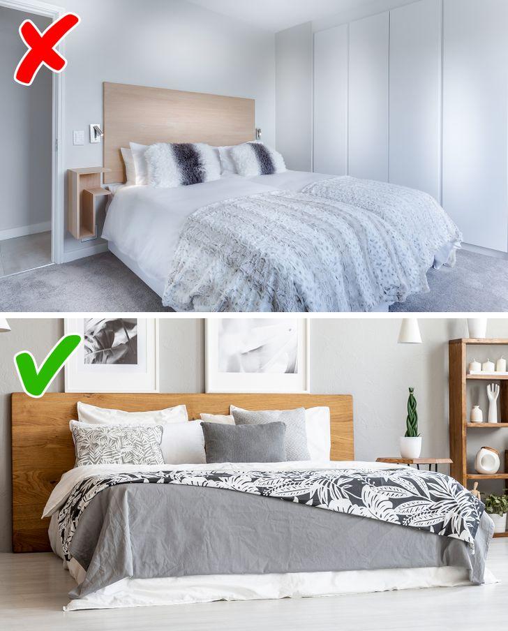 Κανόνες διακόσμησης υπνοδωμάτιο