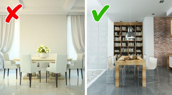 Κανόνες διακόσμησης και σκοπός χρήσης δωματίου