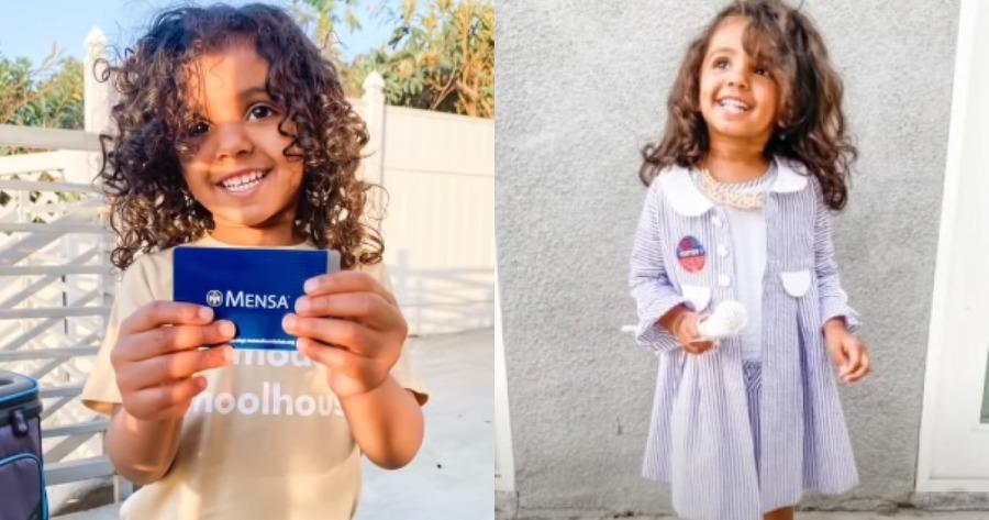 2χρονη διάνοια: Το κοριτσάκι που έχει IQ 146.