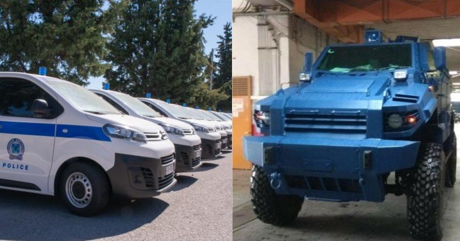 ΕΛΑΣ: Πάνω από 2.700 οχήματα απέκτησε η Ελληνική Αστυνομία.