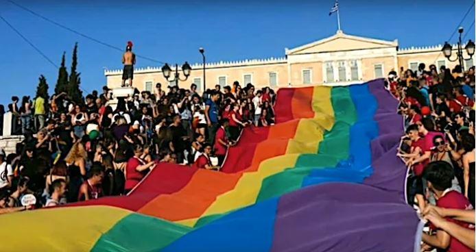 Φώφη Γεννηματά για ΛΟΑΤΚΙφοβία. Γκέι πράιντ Σύνταγμα