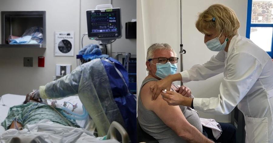 Γεμάτα νοσοκομεία: Σχεδόν όλοι οι ασθενείς στις ΜΕΘ δεν έχουν κάνει εμβόλιο.