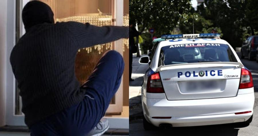 Περιστατικό Γλυφάδας: Κλέφτης πιάστηκε στα πράσα.