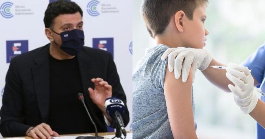 Βασίλης Κικίλιας: Τι είπε για τον εμβολιασμό των παιδιών;