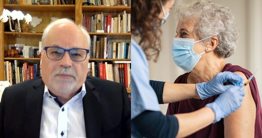 Γιώργος Παυλάκης εμβολιασμός