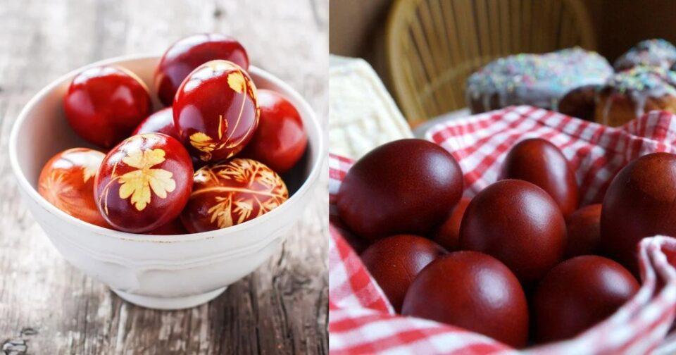 Βαμμένα αυγά