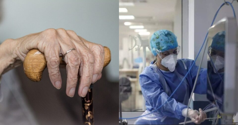 86χρονη κορωνοϊός