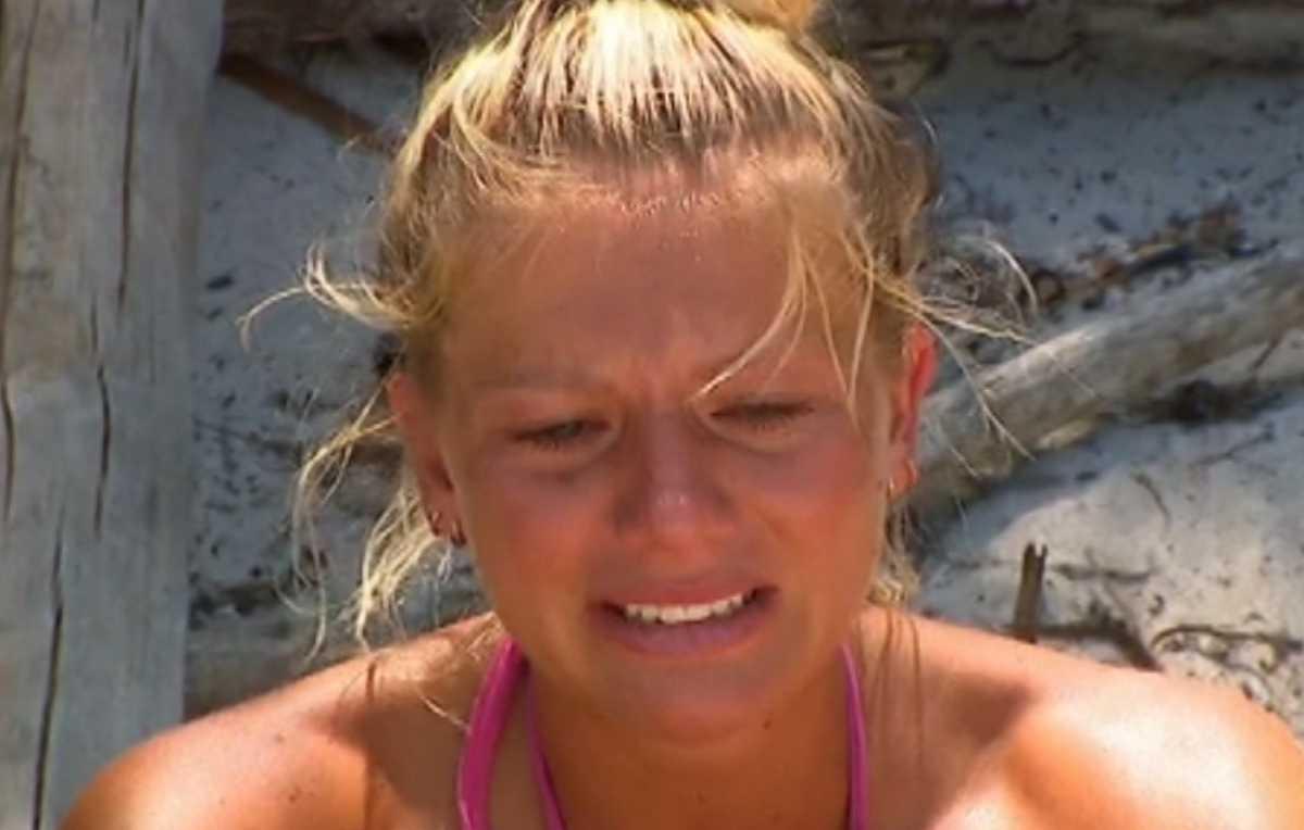 Survivor: Ξέσπασε σε κλάματα η Ελένη Χαμπέρη.