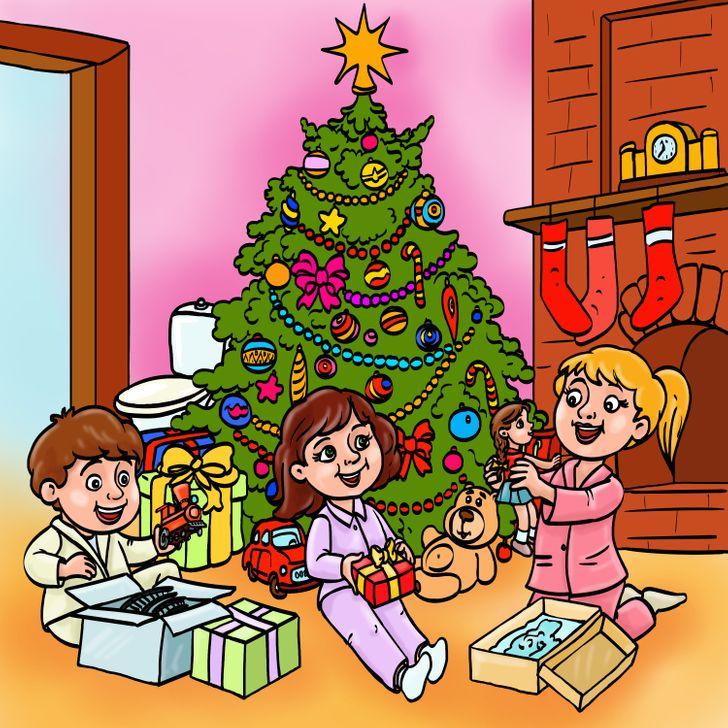 Τεστ παρατηρητικότητας Χριστούγεννα