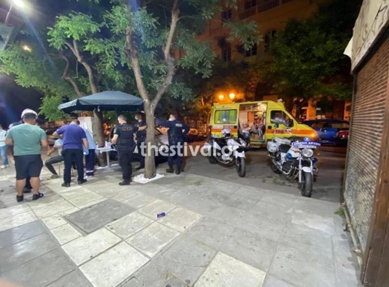 Θεσσαλονίκη αιματηρό επεισόδιο σε ταχυφαγείο