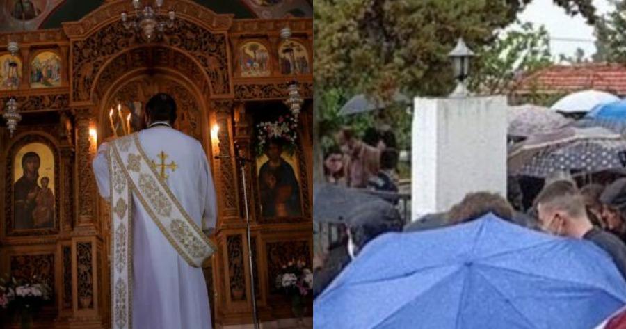 Λεπτομέρειες κηδείας ιερέα που πέθανε από κορωνοϊό στη Θεσσαλονίκη.